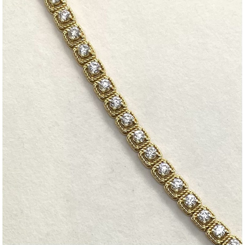 RMJ Signature Diamond Bracelet
