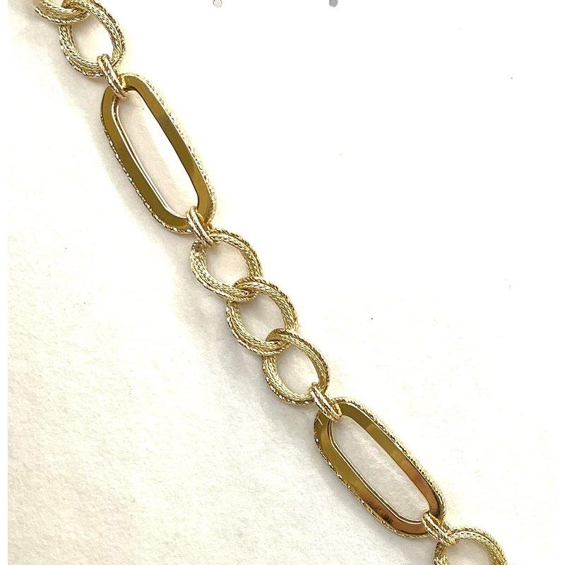 RMJ Signature Yellow Gold Bracelet