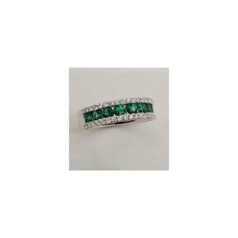 RMJ Signature Emerald & Diamond Ring