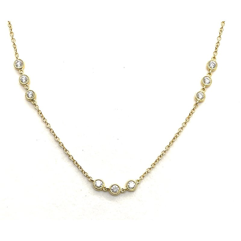 RMJ Signature Diamonds by the yard necklace
