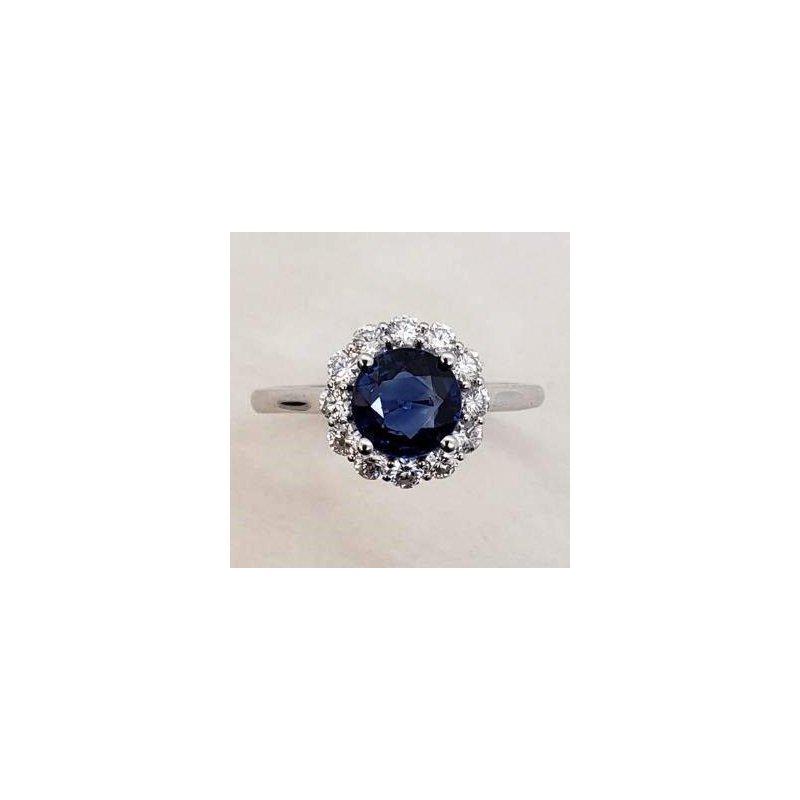 Coast Diamond Sapphire & Diamond ring
