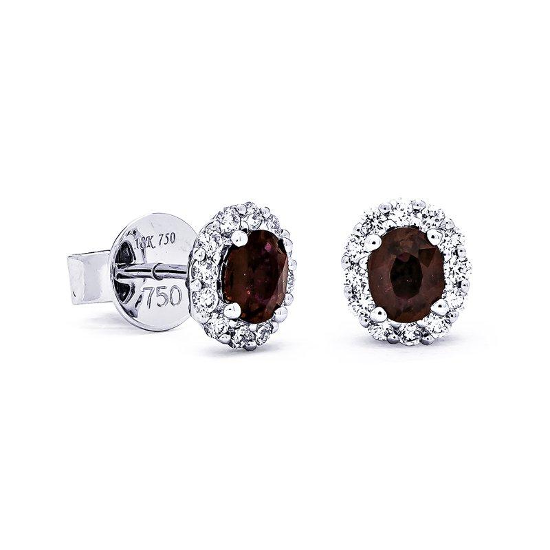 RMJ Signature Ruby & Diamond earrings