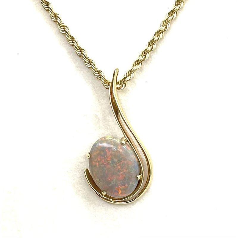 RMJ Signature Custom Opal Pendant