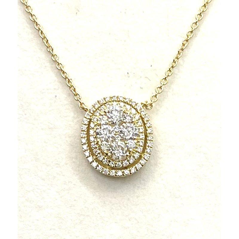 RMJ Signature Diamond cluster pendant