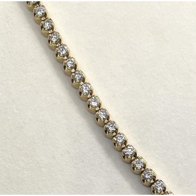 RMJ Signature Diamond Tennis Bracelet