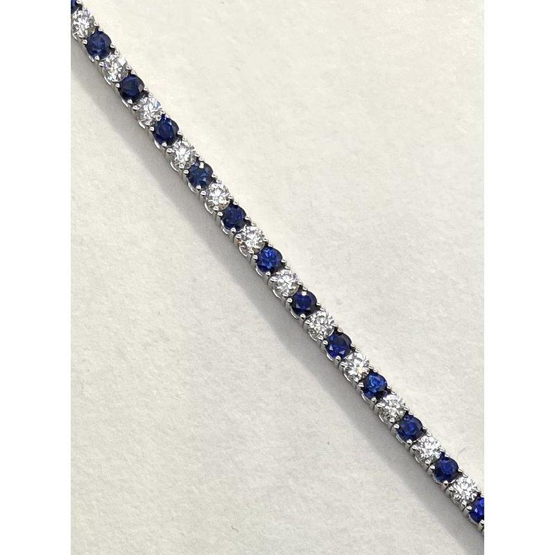 RMJ Signature Sapphire & Diamond Bracelet