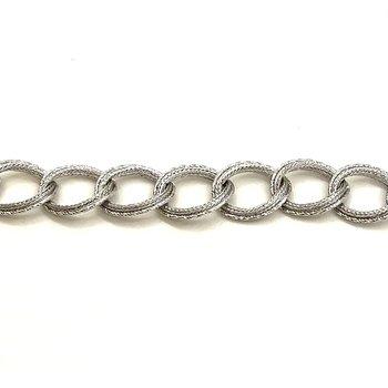 13 Link White Gold Bracelet