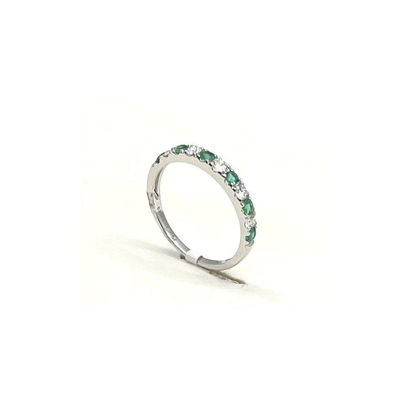 RMJ Signature Emerald & Diamond band
