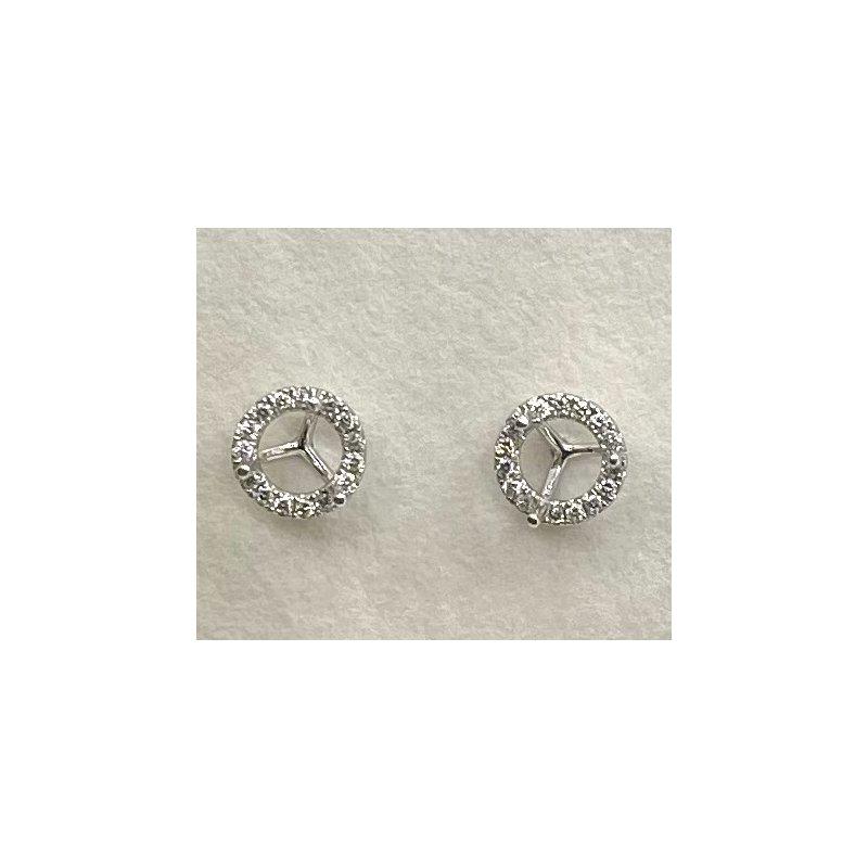 RMJ Signature Diamond Earring Jackets