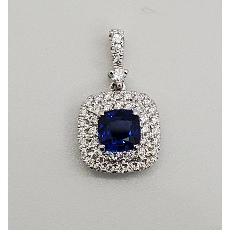 RMJ Signature Sapphire & Diamond pendant