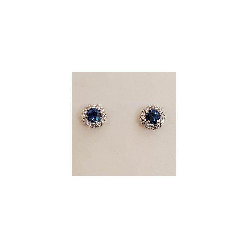 Coast Diamond Sapphire & Diamond earrings