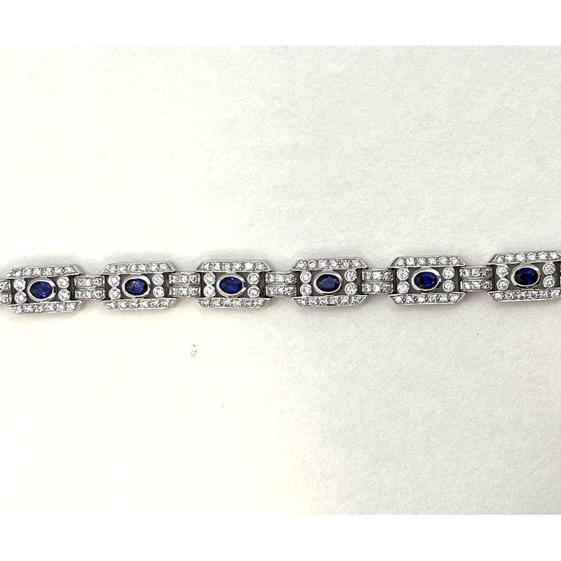 Coast Diamond Sapphire & Diamond Bracelet