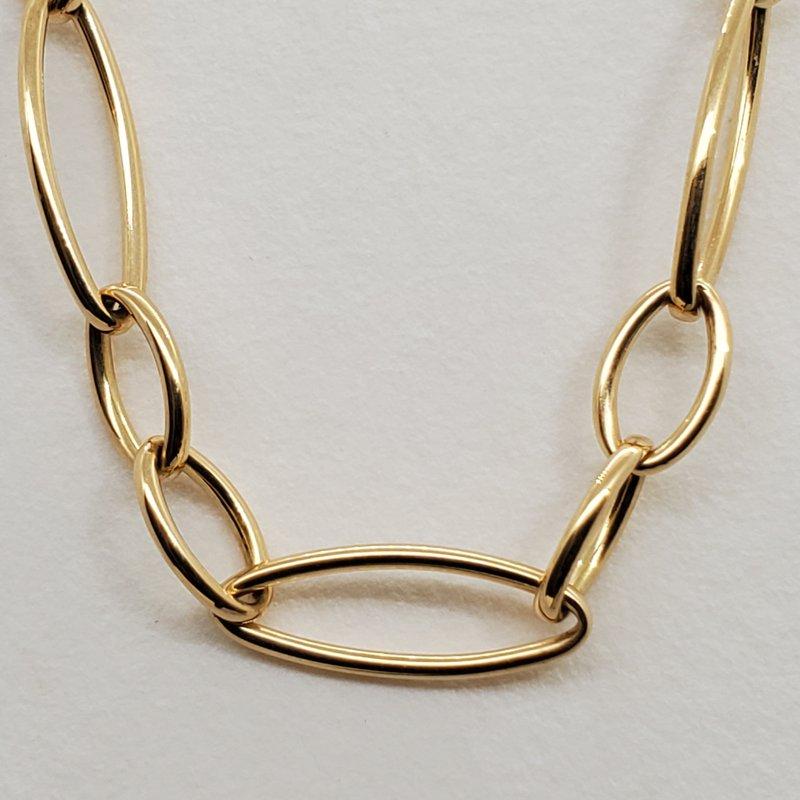 RMJ Signature Oval link necklace