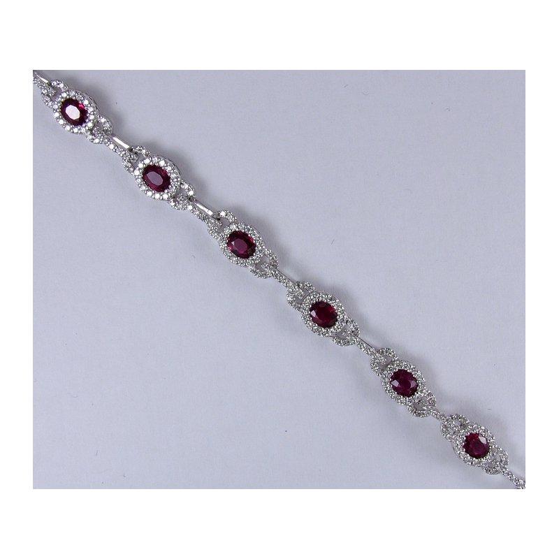 RMJ Signature Ruby & Diamond Bracelet