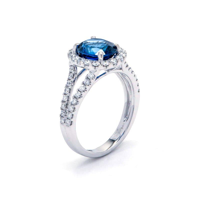 RMJ Signature Sapphire & Diamond ring