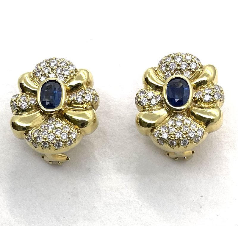 RMJ Signature Gold Cup Earrings