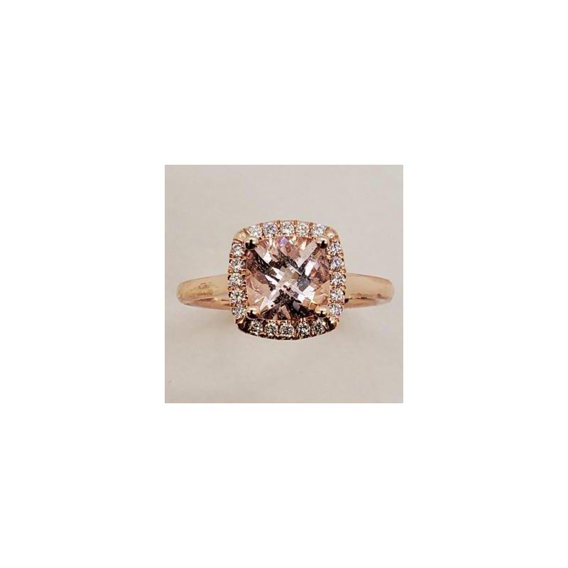 Coast Diamond Morganite & Diamond Ring