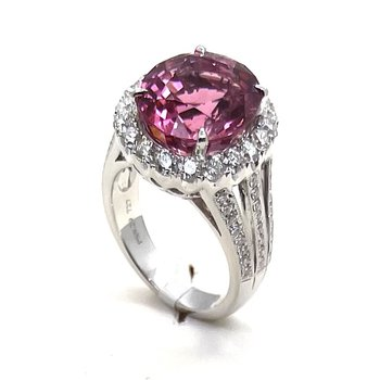 One Of A Kind Pink Tourmaline Ring