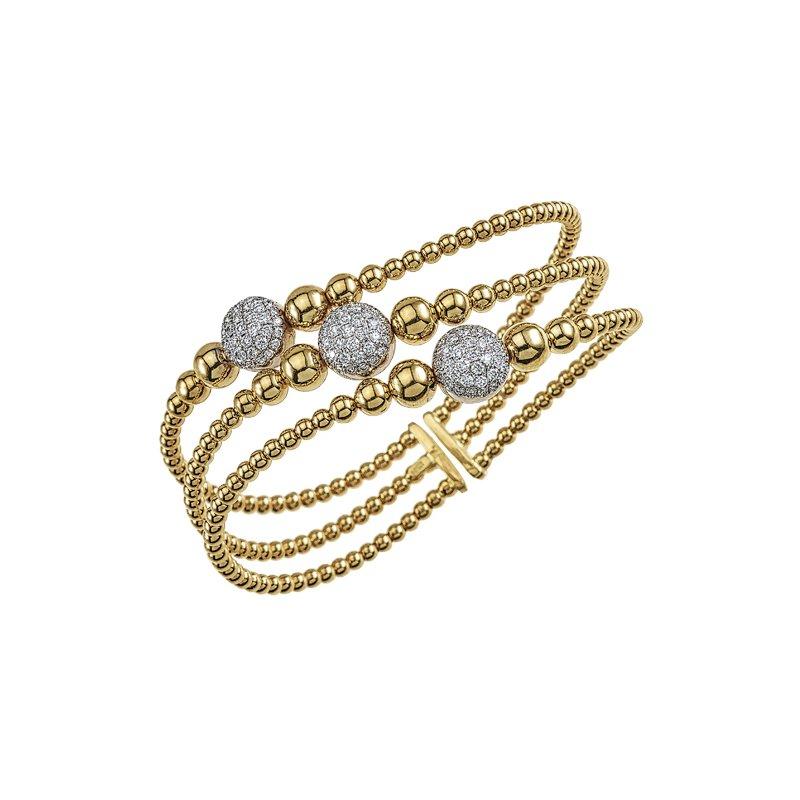 RMJ Signature Flexible Diamond Twist Bangle