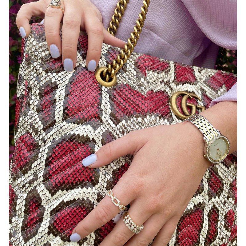 Luxury Handbags Gucci Marmont Python Tote
