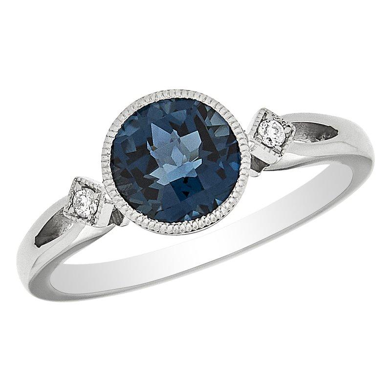 Gemstone Jewelry London Blue Topaz & Diamond