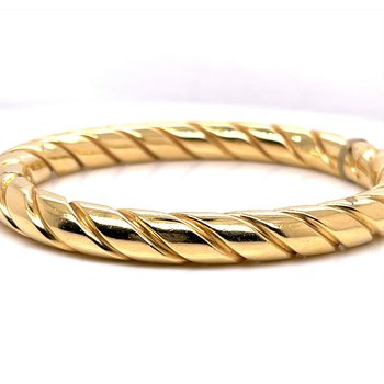 Lady's 14 Karat Italian Rope Bracelet