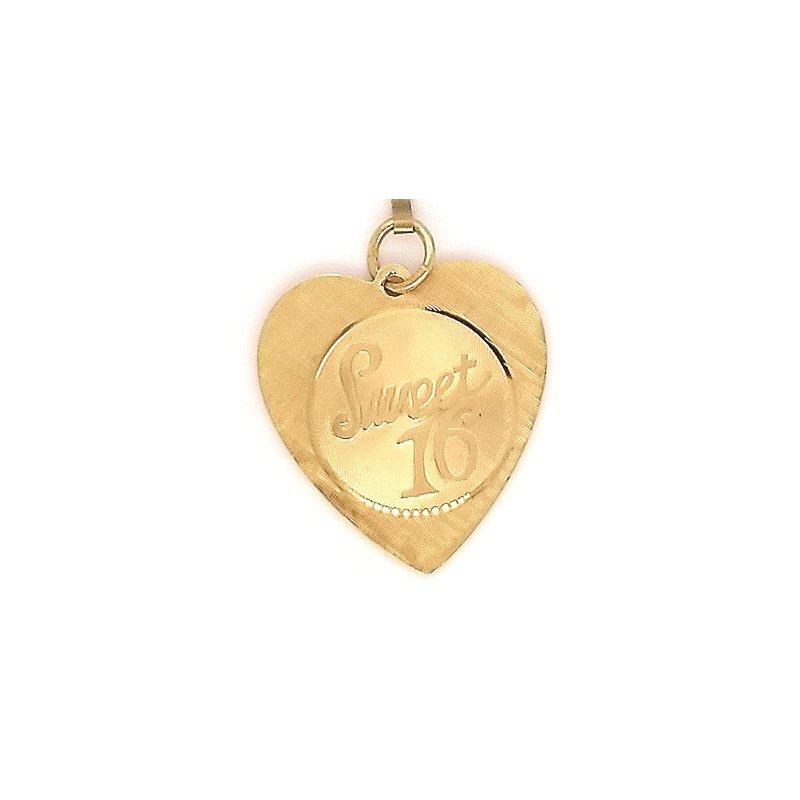 Smithworks Estate Jewelry 14ky Estate Charm Sweet 16