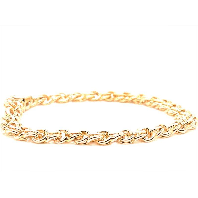 Smithworks Estate Jewelry Lady's 14K Yellow Charm Bracelet