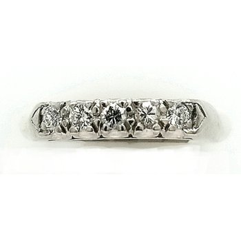 Diamond and Platinum Band
