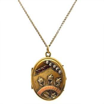 Lady's Gold Filled Locket