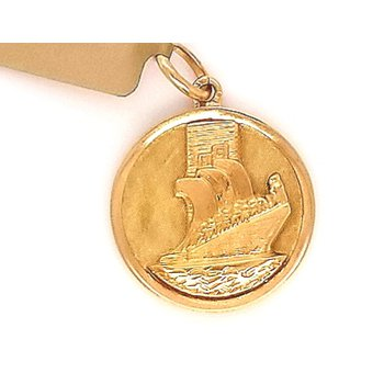 14ky Estate Charm Portugal with Sailing Ship