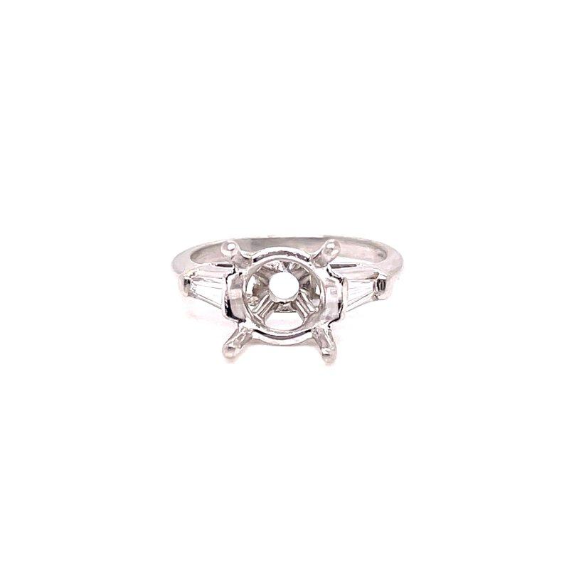 Smithworks Estate Jewelry Lady's Platinum Engagement Ring
