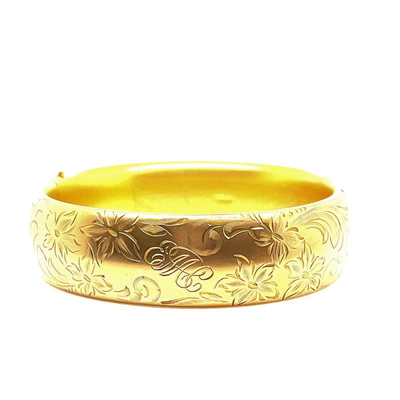 Smithworks Estate Jewelry Lady's Gold Filled Estate Bracelet
