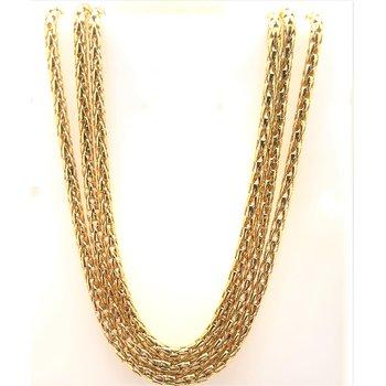 Lady's Triple Strand Estate Necklace