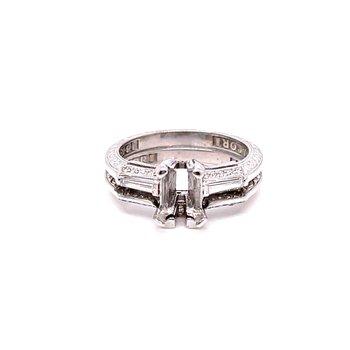 Lady's 18 Karat Engagement Ring
