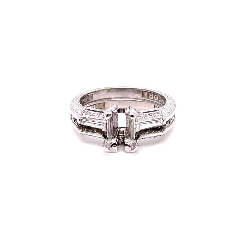 Smithworks Estate Jewelry Lady's 18 Karat Engagement Ring