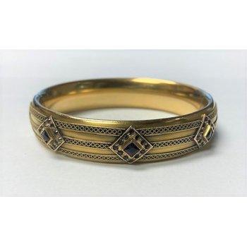 Lady's Amethyst Estate Bracelet
