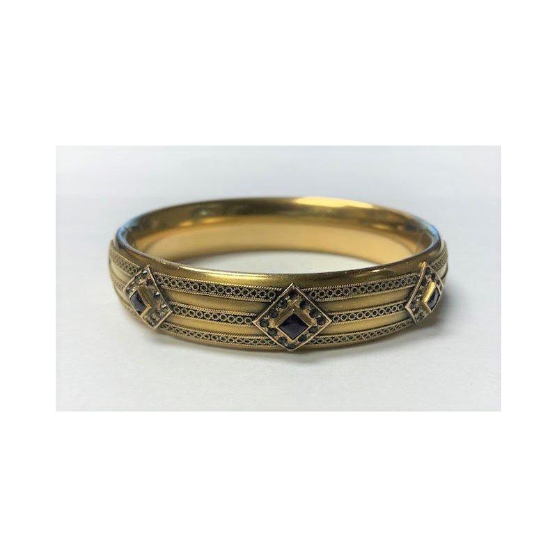 Smithworks Estate Jewelry Lady's Amethyst Estate Bracelet