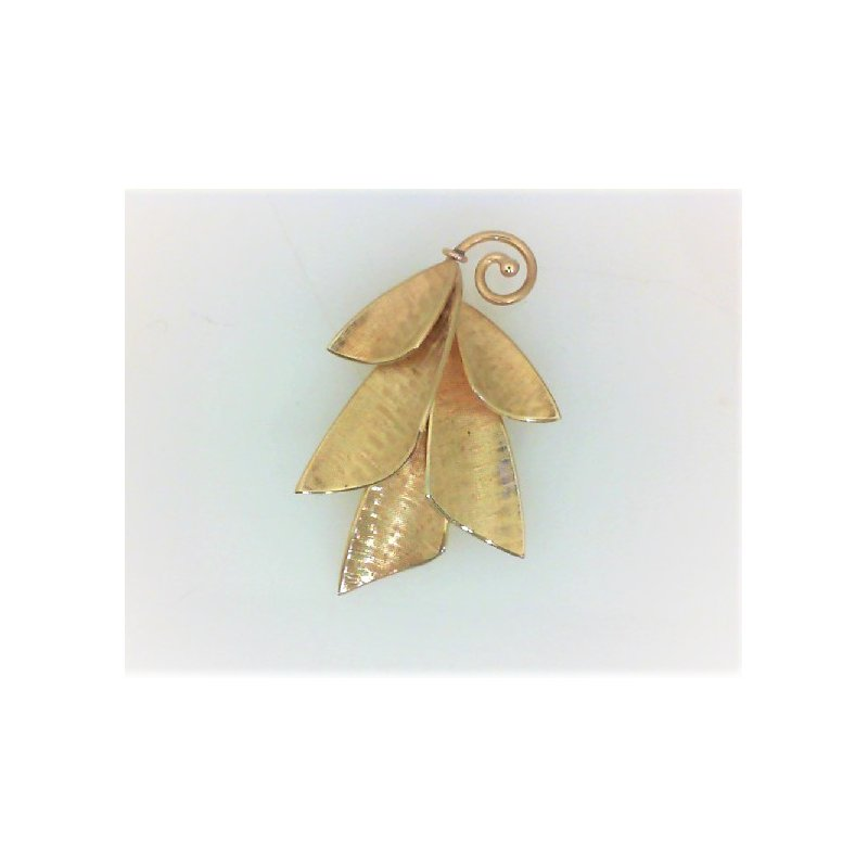 Smithworks Estate Jewelry Lady's 14K Gold Estate Petal Pin