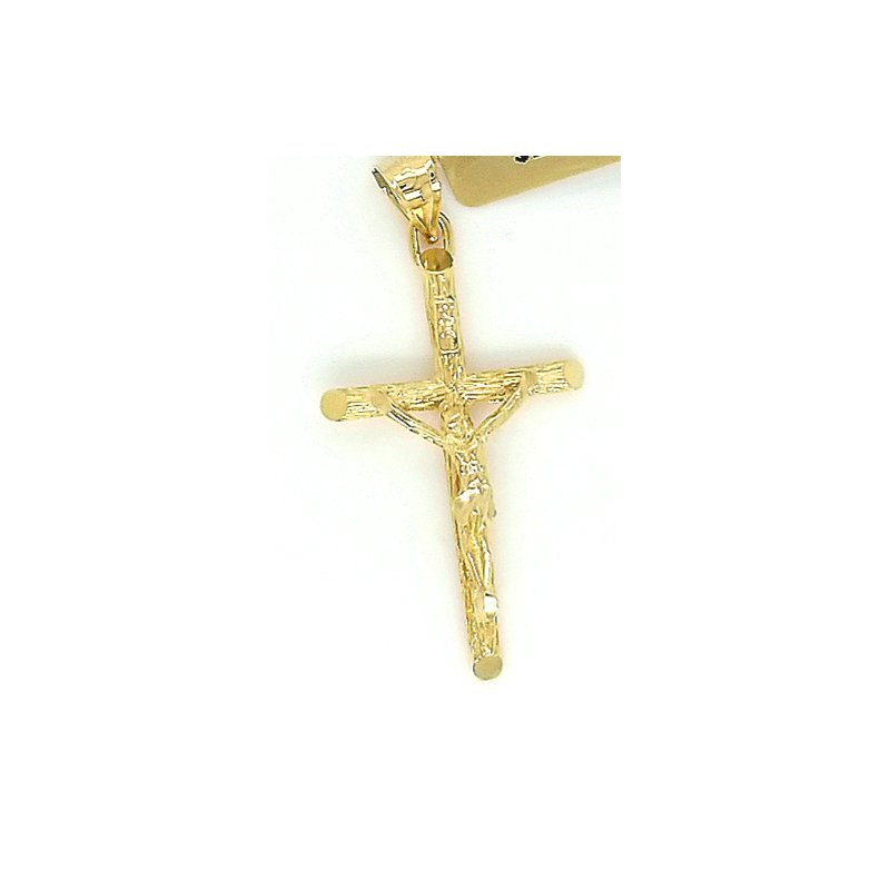 Smithworks Estate Jewelry 14ky Estate Charm Cross with Crucifix