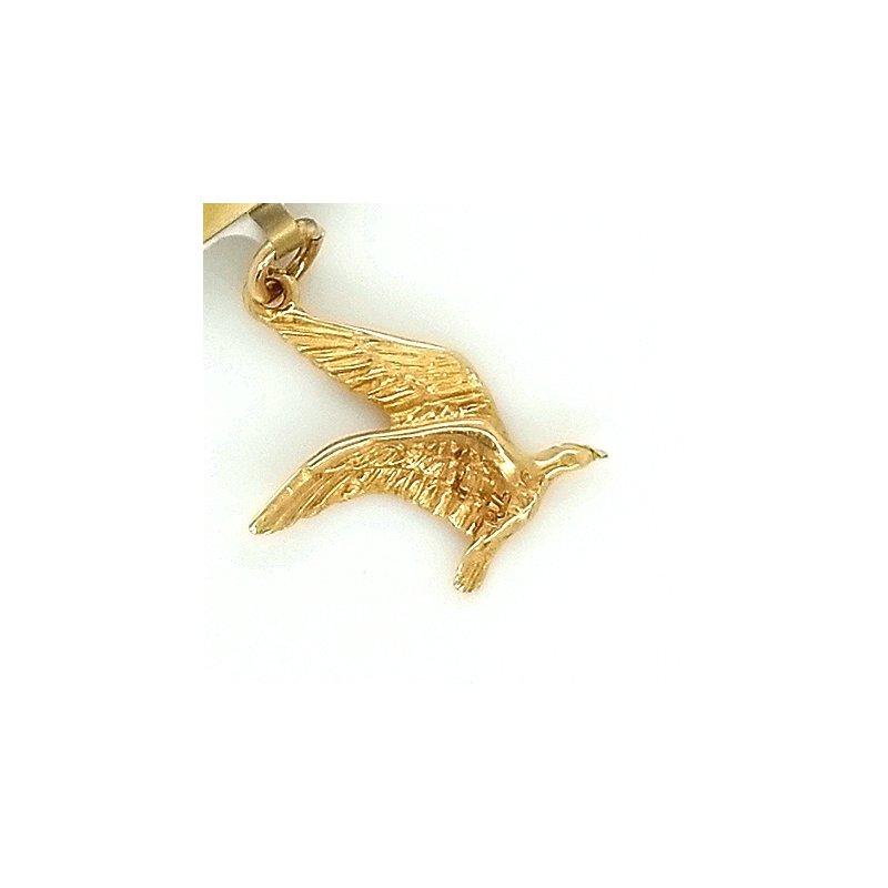 Smithworks Estate Jewelry 14ky Estate Charm Flying Bird