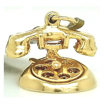 14ky Estate Charm Rotary Princess Phone