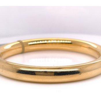 Lady's 14 Karat Plain Italian Estate Bracelet