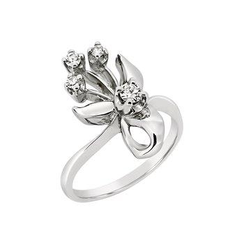 Estate 14KW Diamond Ring