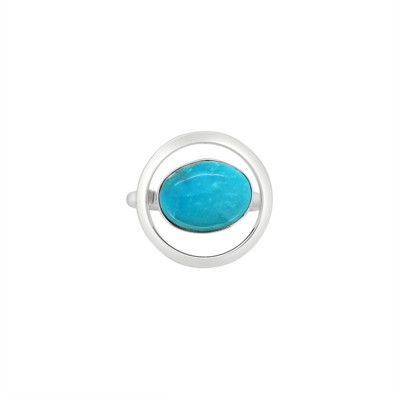 Lilly Barrack SS Turquoise Ring