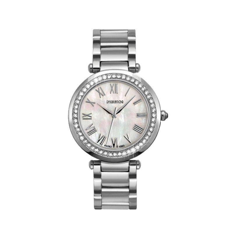 Regulator Regulator White Stainless Steel Quartz Watch