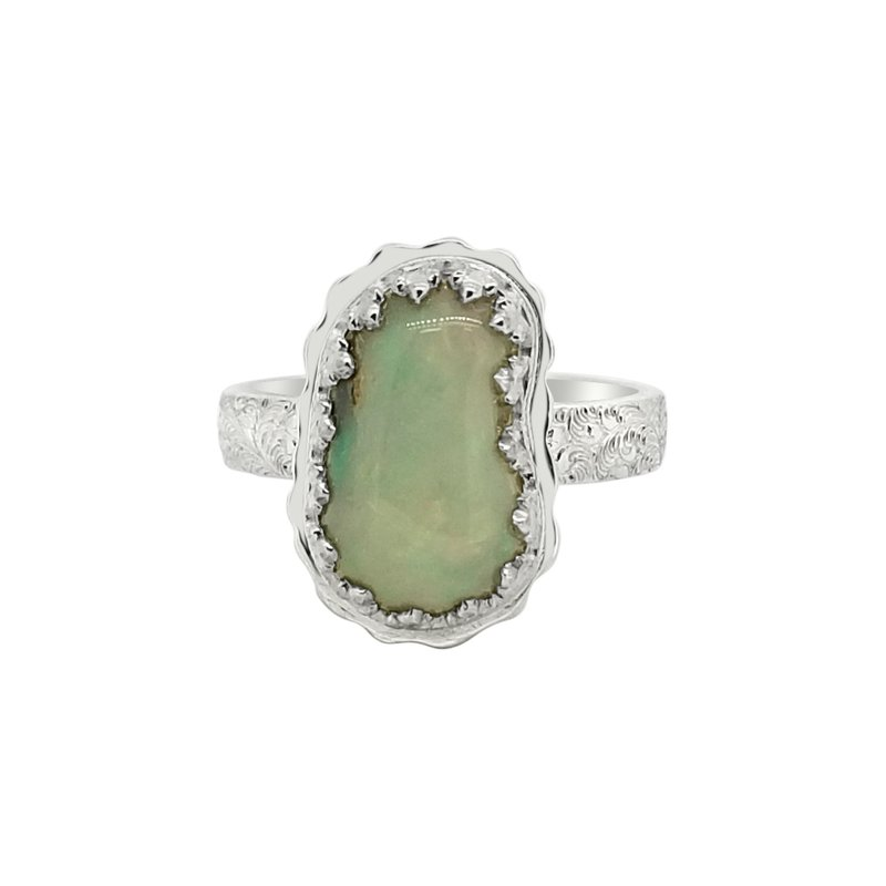 John Beirle SS Ethiopian Opal Ring
