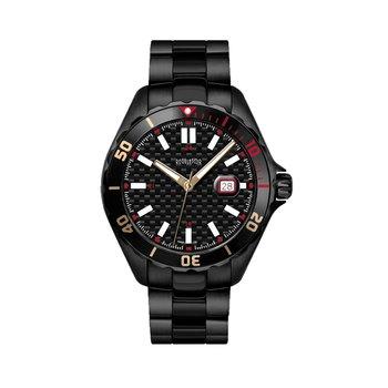 Regulator Black Stainless Steel Watch