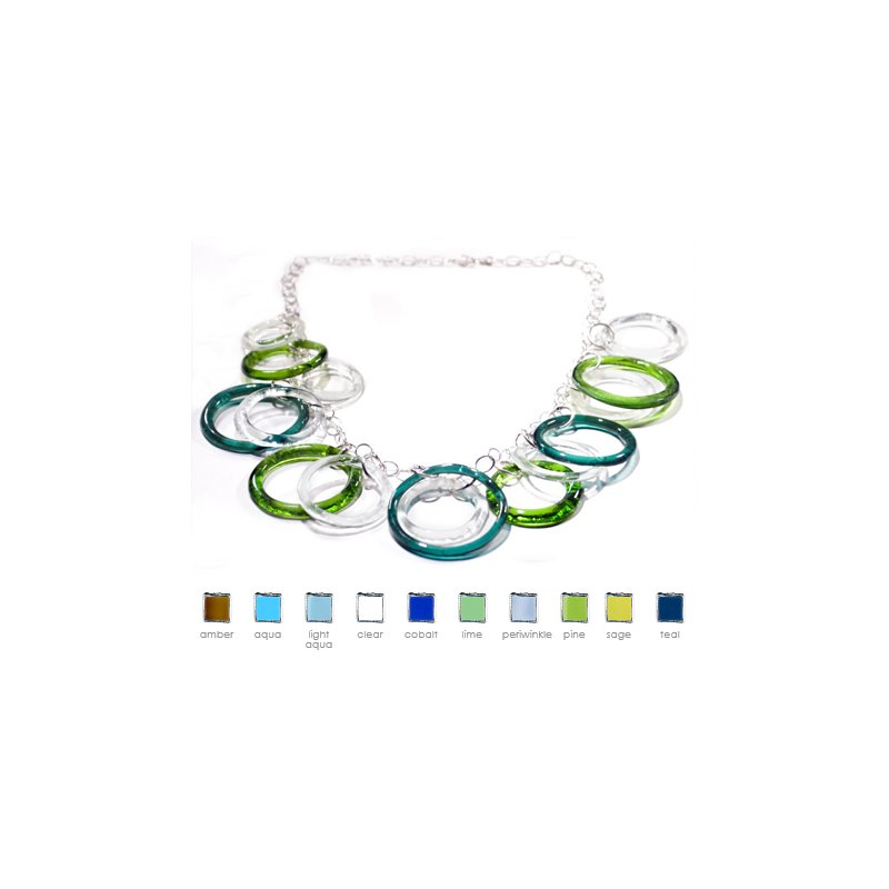 Smart Glass Large Charm Necklace