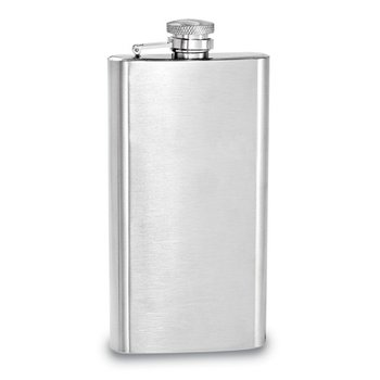 6oz Brushed Flask
